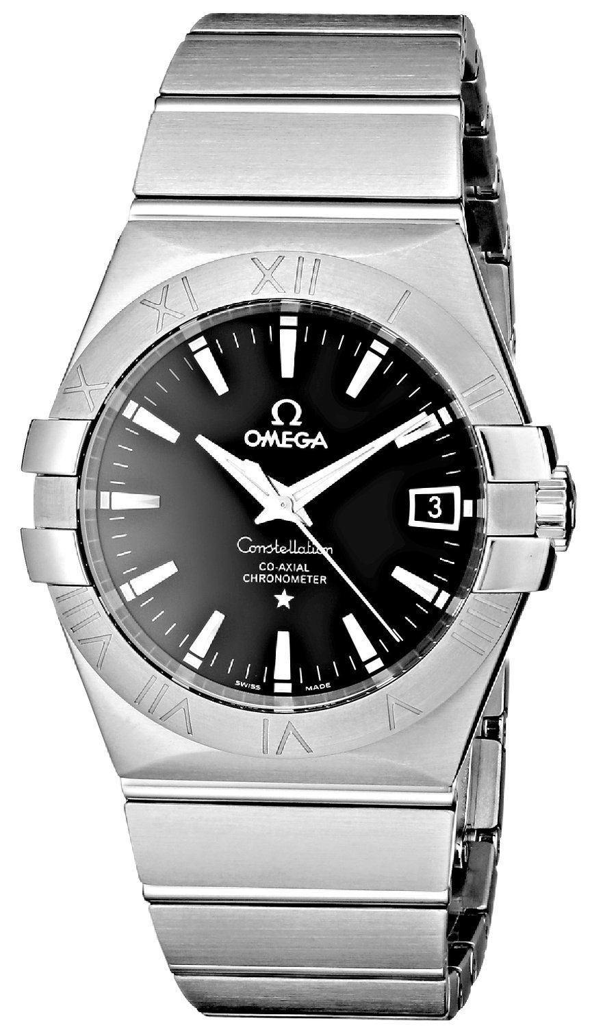 cfe1117a6c9 Omega Constellation Co-Axial 35mm Herreur 123.10.35.20.01.001