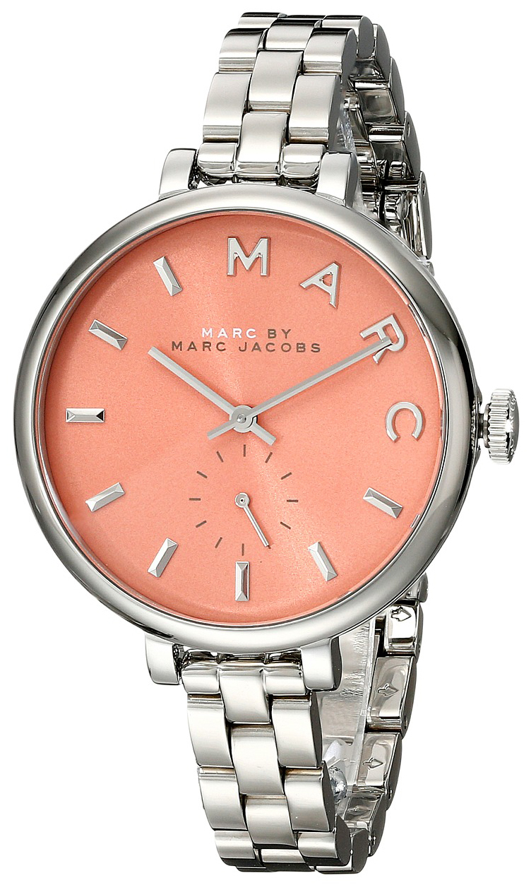 Marc by Marc Jacobs Baker Dameur MBM3365 Orange/Stål Ø36 mm