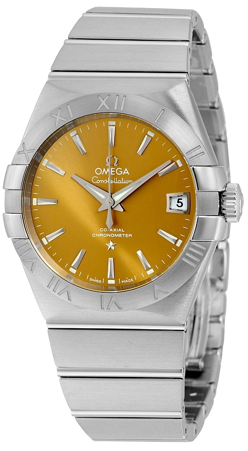 Omega Constellation Co-Axial 38mm Herreur 123.10.38.21.10.001