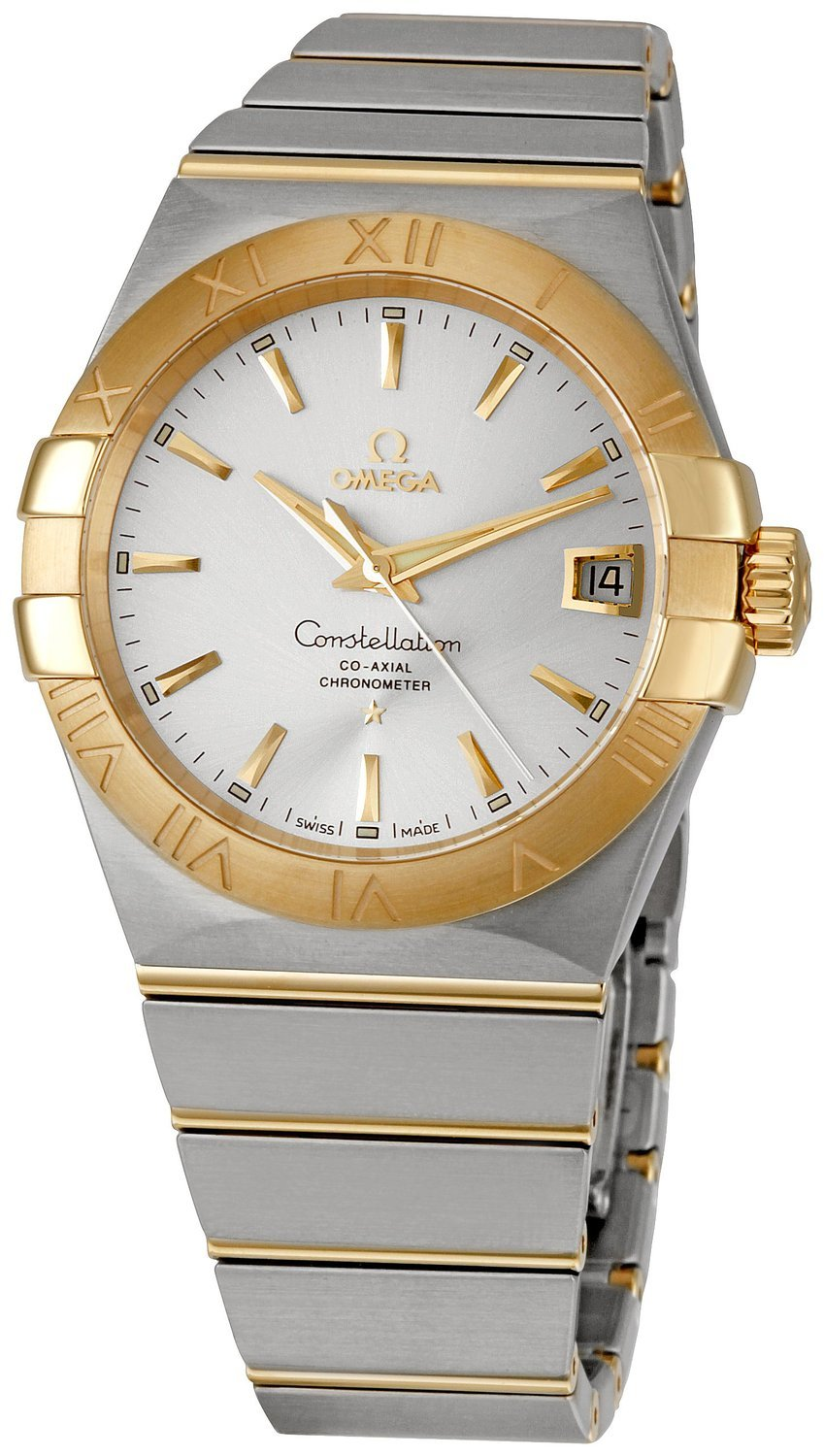 Omega Constellation Co-Axial 38mm Herreur 123.20.38.21.02.002