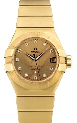 Omega Constellation Co-Axial 38mm Herreur 123.50.38.21.58.001